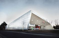Climate Protection Supermarket by Love Architecture — ARCHITECTURELOVER.COM