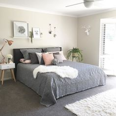 Amazing Scandinavian Bedroom Decor Ideas - New Decoration Master Bedroom Interior, Home Bedroom, Diy Bedroom Decor, Home Decor, Bedroom Ideas, Bedroom Themes, Bedroom Inspo, Budget Bedroom, Master Bedrooms