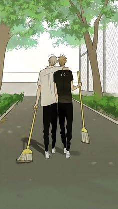 Old Xian  19days Manhwa Manga, Manga Anime, Tan Jiu, Shonen Ai, My Childhood Friend, Fanart, 19 Days, Hot Anime Guys, Cute Gay