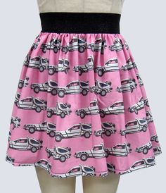 Back to the Future Delorean Full Skirt via Etsy.
