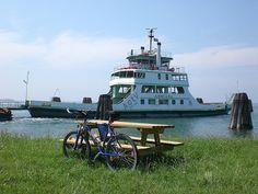 Sailing boat + bike