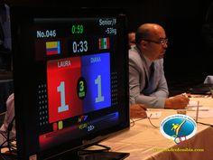 Tecnologia de sensores y puntuación en pantalla.