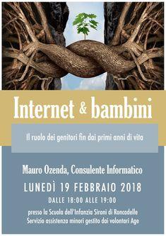 Roncadelle (BS) 19/02/2018: Internet & bambini: il ruolo dei genitori fin dai primi anni di vita (incontro genitori scuola primaria)