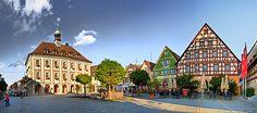 Rathaus am Marktplatz, Neustadt an der Aisch (D)