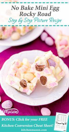 Mini Egg Rocky Road | Easter | Chocolate | No Bake | Fridge Cake