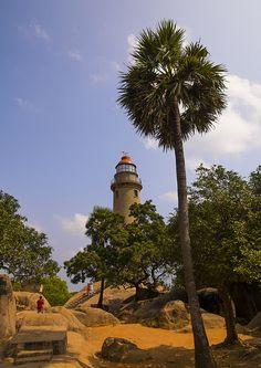 Mahabalipuram Lighthouse, Mahabalipuram, Tamil Nadu, India - Flickr - Photo Sharing!