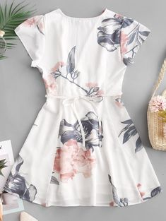 Swag Outfits For Girls, Girls Fashion Clothes, Girl Fashion, Fashion Dresses, Cute Outfits, Style Fashion, Stylish Dresses, Cute Dresses, Casual Dresses
