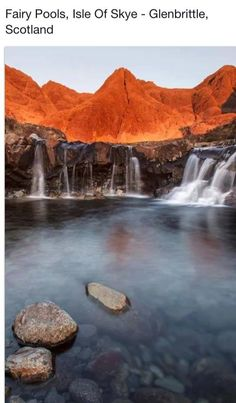 Fairy Pool, Isle of Skye-Glenbrittle Scotland