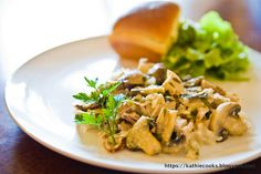 Kathie Cooks...: Marsala Chicken-and-Mushroom Casserole