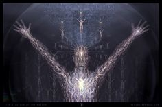 'Illusion of Separation'  Visionary Art by Kuba Ambrose