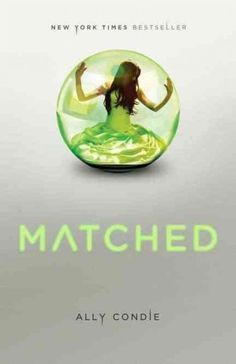 "Matched by Ally Condie. ""This is one of the first YA books I read, and it is the story that made me fall in love with YA and ultimately choose to write it. A big influence on my writing!"" - @jesskhoury"