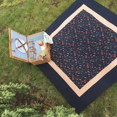 Our Latest One of a Kind handmade picnic blanket. If you love Navy Blue this is the blanket for you. Only 1 available- no others will be created. Waterproof Picnic Blanket, Picnics, Outdoor Dining, Blankets, Outdoor Blanket, Navy Blue, Seasons, Handmade, Stuff To Buy