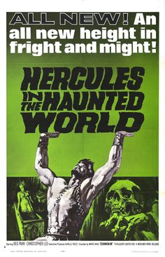Hercules in the Haunted World, 1961, Directed by Mario Bava