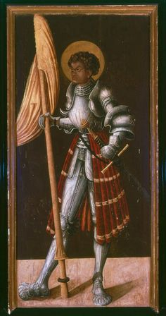 Another black saint/knight