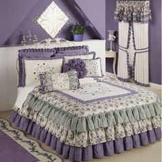 Serenade Grande Ruffled Bedspread Bedding