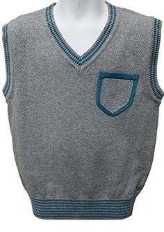 BOYS SWEATER VEST 100% COTTON 2240 Sweaters Boys