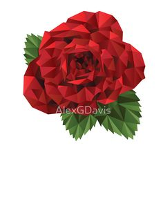 Polygonal Rose by AlexGDavis