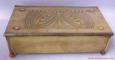 Carl Deffner, Esslingen Secessionist Art Nouveau Box