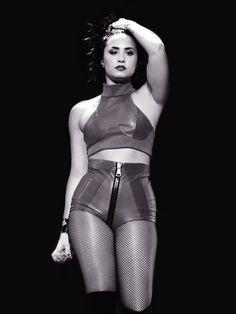 DECEMBER 1st - Demi Lovato performing at the 106.1 KISS FM Jingle Ball in Dallas