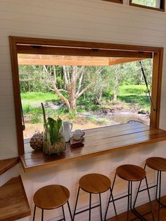 Are you seeking Tiny House Decor Ideas for a small space? If so, you need to be aware of the pros and cons of having a tiny house, because this is a small space and therefore, there are some big… Continue Reading → Tyni House, Tiny House Cabin, Tiny House Plans, Tiny House On Wheels, Tiny Little Houses, Tiny Tiny, House Stairs, House Floor, Tiny House Company