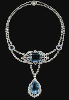 Cartier, 1912, Sotheby's... OMG that dress