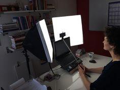 Video maken met mijn selfiestick voor de Week van de Toptrainer