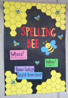 "El 4 de octubre será competencia ""Spelling Bee"" 