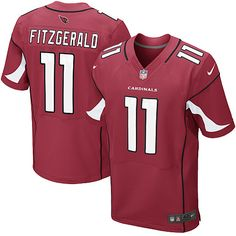 Youth Nike Arizona Cardinals #11 Larry Fitzgerald Elite Team Color Red Jersey$79.99