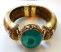 Druzy Bone Cuff Bracelet ♥