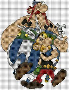 schema Asterix e Obelix
