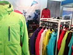 Pure setup at the Travel Expo Booth. Outdoor Apparel, Outdoor Outfit, Fashion Brand, Pure Products, Fashion Outfits, Jackets, Travel, Clothes, Women