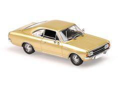 Opel Rekord Coupè  1966  in blau  Maxichamps//Minichamps  1:43  OVP  NEU