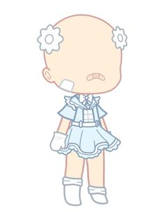 Cute Doodle Art, Cute Doodles, Cute Art, Cartoon Outfits, Anime Outfits, Cute Anime Chibi, Kawaii Anime, Club Hairstyles, Hair Sketch