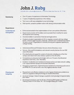 resume i like this format with various colors and type size