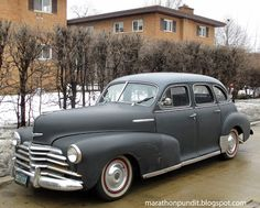 Classic car: 1948 Chevrolet Stylemaster