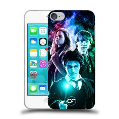 Case Fun Harry Ron & Hermione Harry Potter Hard Case for Apple iPod Touch 6th Generation #samsung #iphone #iphonecase #samsungcase #mycasefun #casefun
