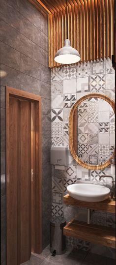 Virlova Interiorismo: [Projects] Diseño de restaurante en madera y aguamarina