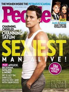 Channing Tatum Crowned People's Sexiest Man Alive AND GQ's Movie Star Of The Year!