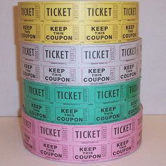 2000 Roll Double Stub Raffle Tickets Drawing Ticket Carnival for sale online 50 50 Raffle, Raffle Tickets, Ticket Drawing, Classroom Management, Fundraising, Carnival, Drawings, Ebay, Carnavals