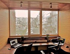 Фотография: Балкон, Терраса в стиле Современный, Интерьер комнат, балкон квартиры, балкон как зона отдыха, идеи для балкона – фото на InMyRoom.ru