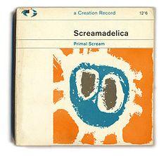 album covers reimagined as pelican books.