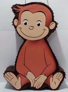 George The Curious Pinata George the Curious Theme Party, George the Curious Party Supplies. Curious George Party, Curious George Birthday, Birthday Party Themes, Boy Birthday, For Your Party, First Birthdays, Party Supplies, Caillou, Draw
