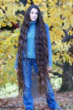 Beautiful Long Hair, Gorgeous Hair, Amazing Hair, Curls For Long Hair, Very Long Hair, Elegant Hairstyles, Girl Hairstyles, Long Hair Models, Dream Hair