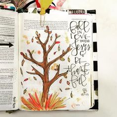 Bible Journaling by @missmitole More