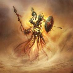 Fantasy Warrior Magic Fire Fantasy Paintings Fantasy Artwork Digital Paintings Fantasy Images