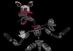 Nightmare mangle sfm Fnaf Sl, Fnaf Sister Location, Fnaf Characters, Five Nights At Freddy's, Jr, Comics, Friends, Amigos, Cartoons