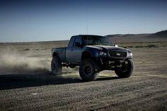 Long travel 4x4 ford ranger