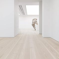 Wide plank flooring at Saatchi Gallery - Douglas by Dinesen