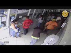 Idoso encara bandidos e escapa de assalto a lotérica na Bahia
