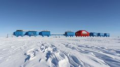 The world's first mobile research centre on the floating Brunt Ice Shelf in Antarctica is going to be moved to a new location for the first time, due to fears it could be trapped on an iceberg.